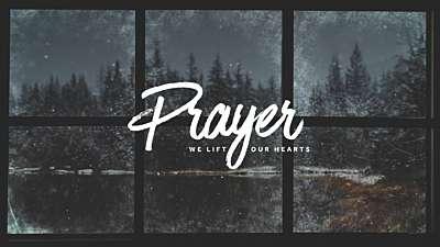 Christmas Windows Prayer
