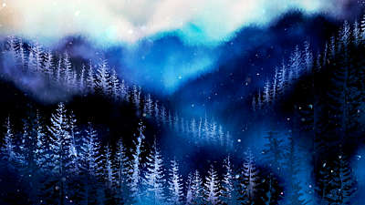 Christmas Woods 1