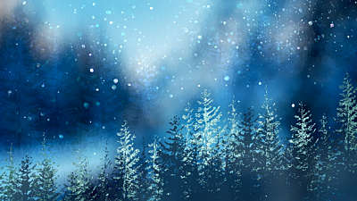 Christmas Woods 2
