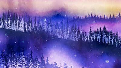Christmas Woods 4