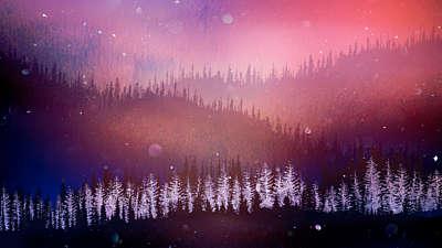 Christmas Woods 5