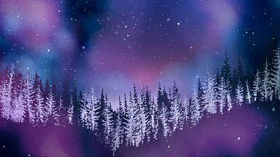 Christmas Woods 6