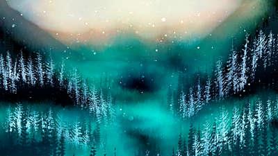 Christmas Woods 7