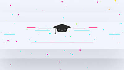 Colorful Graduation Title Blank