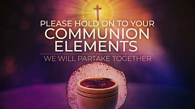 Communion Elements Loop Vol2