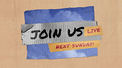 DIY Clouds Join Us Live Next Sunday