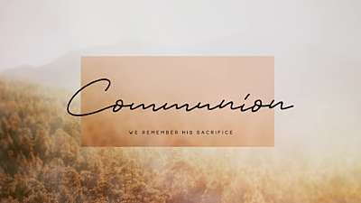Deep Autumn Communion