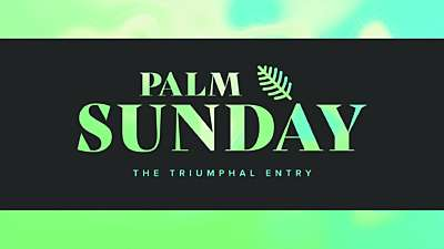 Easter Foil Palm Sunday