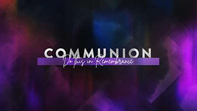 Easter Journey Communion