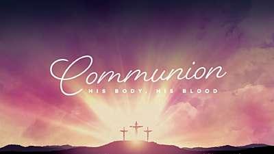 Easter Morning Communion