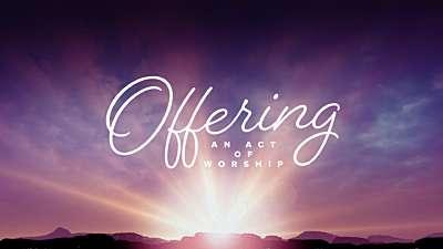 Easter Morning Offering