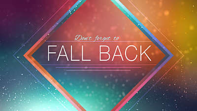 Fall Light Fall Back
