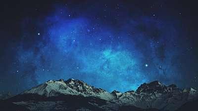 Heavenly Lights Celestial Stars