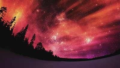 Heavenly Lights Flame