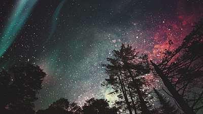 Heavenly Lights Vast