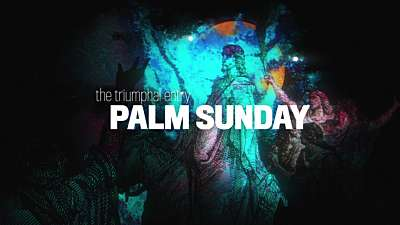 Holy Week Art Palm Sunday