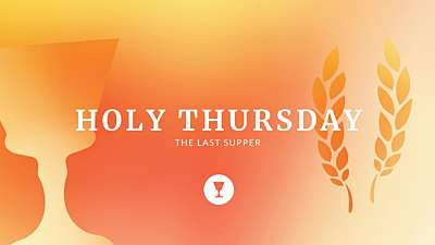 Holy Week Icons Holy Thursday