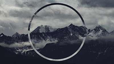 Misty Mountain Range