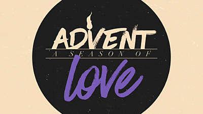 Modern Advent Title Love