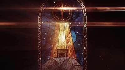Nativity Glass Manger