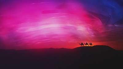 Nativity Glow Magi