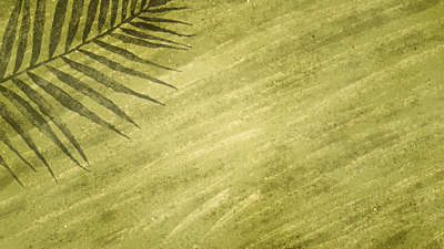 Painted Palm Sunday 03