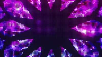 Pixel Glass Star