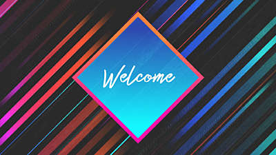 Rad Plaid Welcome