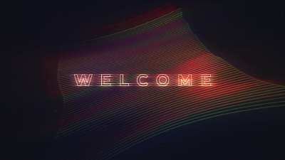 Retro Welcome