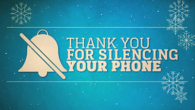 Silence Your Phone Winter 01