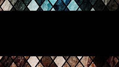Simple Stained Glass Diamonds Stream