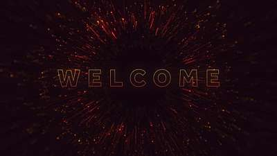 Sparkle Burst Welcome