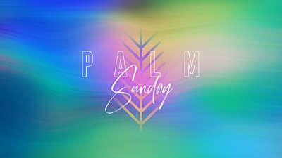 Spring Warp Palm Sunday