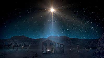 Starry Night Nativity 1