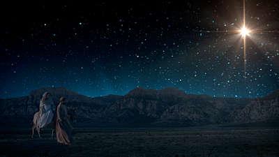Starry Night Nativity 2