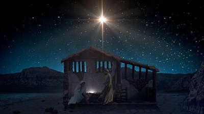 Starry Night Nativity 4