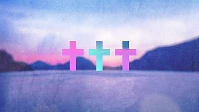 Watercolor Cross Lake Remix
