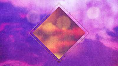 Watercolor Cross Sky Remix