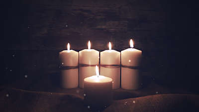 Advent Candles Center