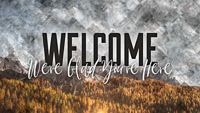 Colorful Fall Welcome