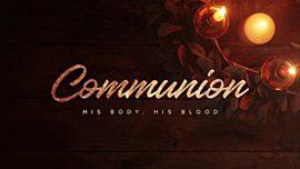 Advent Gold Communion