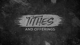 Ashes Rising Tithes Offerings
