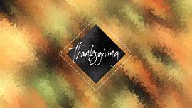 Autumn Paint Thanksgiving