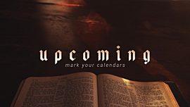 Bible Upcoming