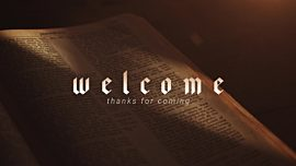 Bible Welcome