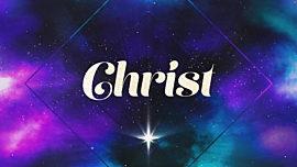 Christmas Galaxy Christ
