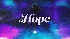 Christmas Galaxy Hope