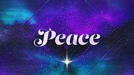 Christmas Galaxy Peace