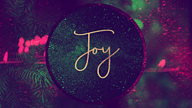 Christmas Reflections Advent Joy