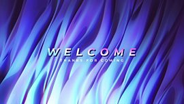 Color Waves Welcome